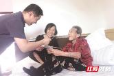 长沙县百岁老人目前共20位,每月有500元津贴,生日当天还有礼金
