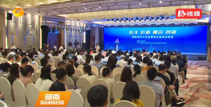 湖南省中小企业领军企业家交流会在长沙举行