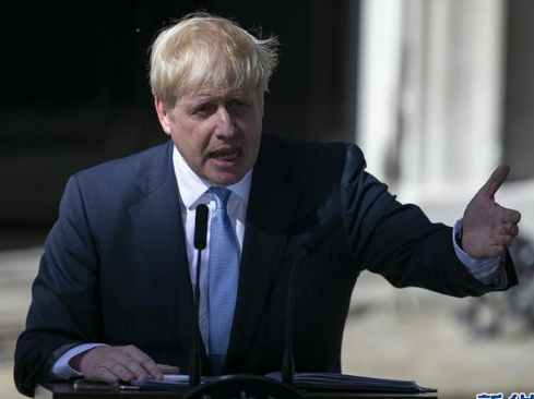 英国执政党保守党领袖鲍里斯·约翰逊 就任英国首相