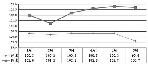 永州:2019年上半年CPI温和上涨