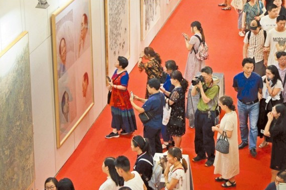 Hunan Exhibition of Fine Arts Opens