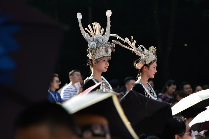 Highlights of Huanglong Music season in Zhangjiajie, Hunan