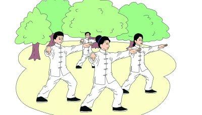 全民健身日丨蓝山县太极拳协会举行大型展演活动