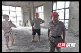 常德市交建投集团董事长刘腾波督导公司大气污染防治工作
