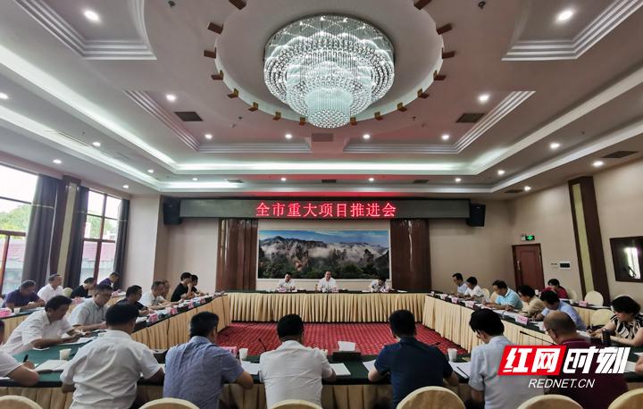 刘革安:集中精力 担当作为 加快推进重大项目建设