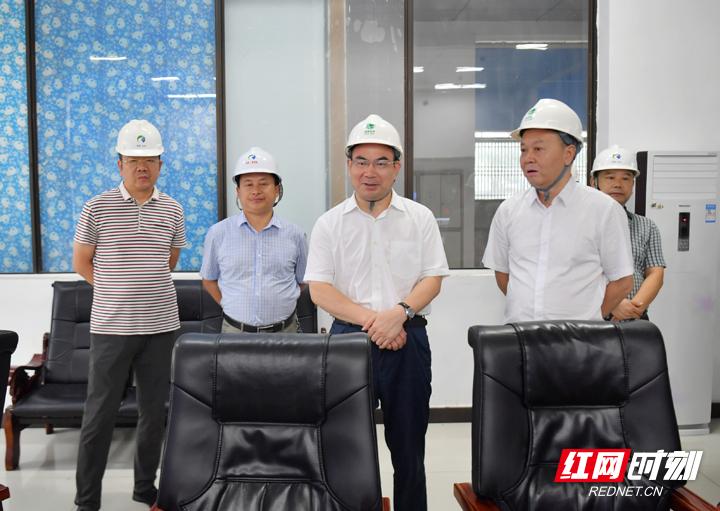 刘革安调研涉大鲵国家级自然保护区水电站整改工作
