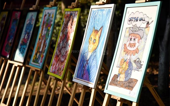红图丨湖南桂阳为少儿免费提供艺术展示平台