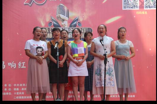 """珠江啤酒""""K歌之王""""竞选赛第三场在花石镇开唱"""
