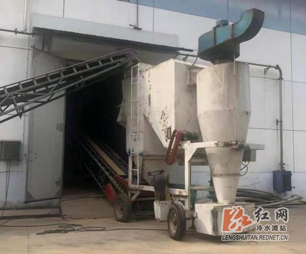 永州下河粮库:粮食收购实现一卡通 切实保障粮食安全