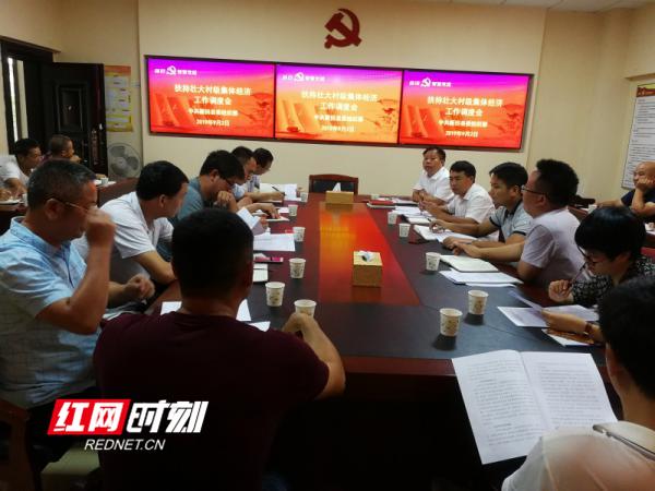新田召开全县扶持壮大村级集体经济工作调度会