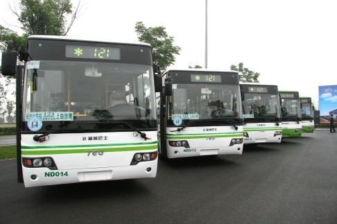 """湖南积极推广新能源公交  加速驶入""""绿色发展""""快车道"""