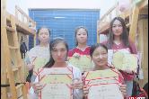 优秀!高职院校同寝5名女生2年内获76张证书