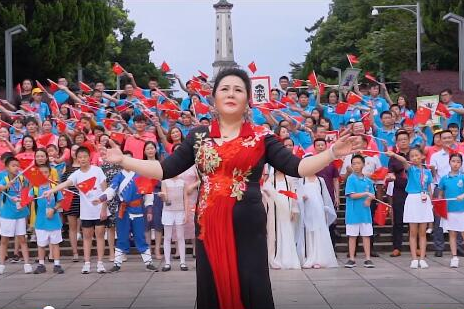 Celebrate China 70: Overseas Chinese of 19 countries express love for China