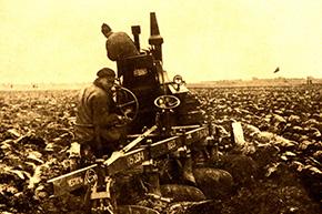 垦区歌魂丨湖南农垦机械化第一犁——福特拖拉机