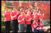 種下愛國的種子 幼兒園師生深情獻禮新中國成立70周年