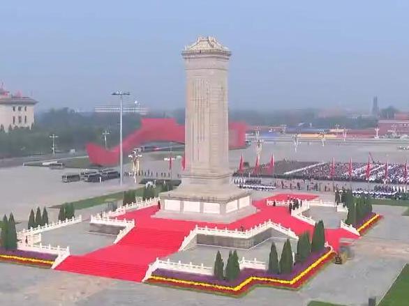 视频丨习近平等出席烈士纪念日向人民英雄敬献花篮仪式