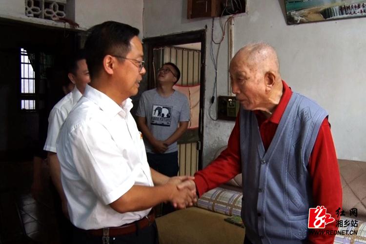 【我们的节日·重阳】彭瑞林看望慰问离休老干部、百岁老人 送上美好祝福