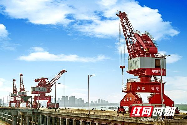 德山港千吨级码头