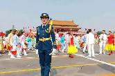 光荣!湘乡女孩参加国庆阅兵仪式 展现飒爽英姿!