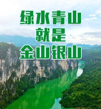 绿水青山就是金山银山