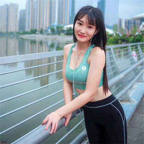 爱跑步的主持人!谭房倩:期待邂逅不同的长沙