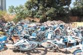 百余辆共享电单车被丢弃,谁干的?