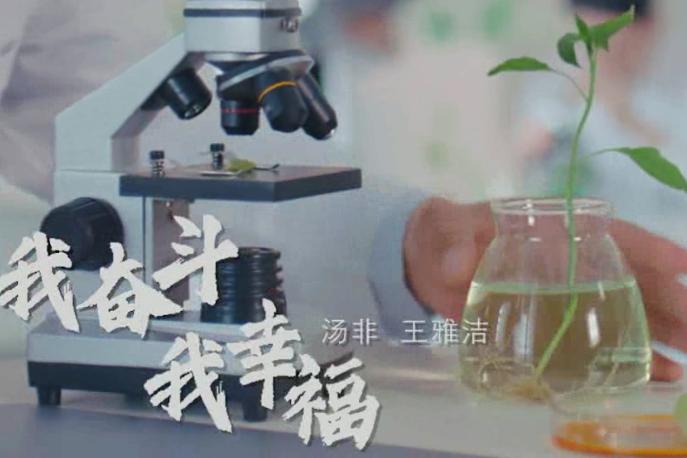 """""""中国梦""""主题新创作歌曲 《我奋斗我幸福》"""