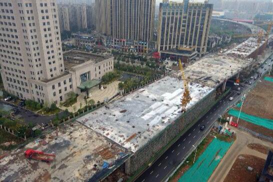 最新进展!长沙湘府路快改河西段春节期间有望达通车条件