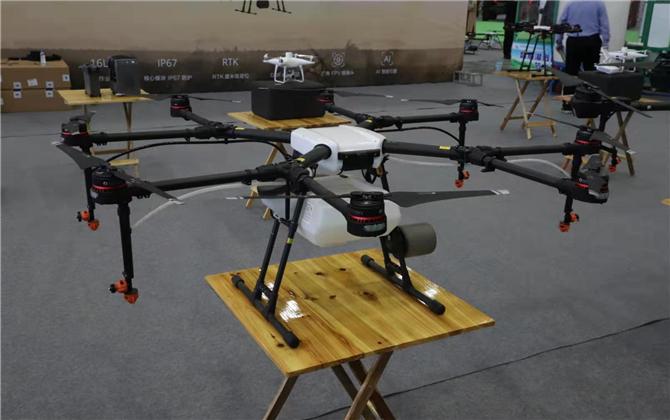 邵陽蘿卜干、植保無人飛機、泰國藥膏…… 農博會展品先睹為快