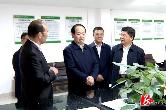 省退役军人事务厅党组书记、厅长唐勇来湘乡调研