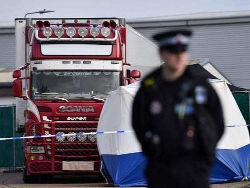 越南确认英国货车惨案39名遇难者均为越南公民