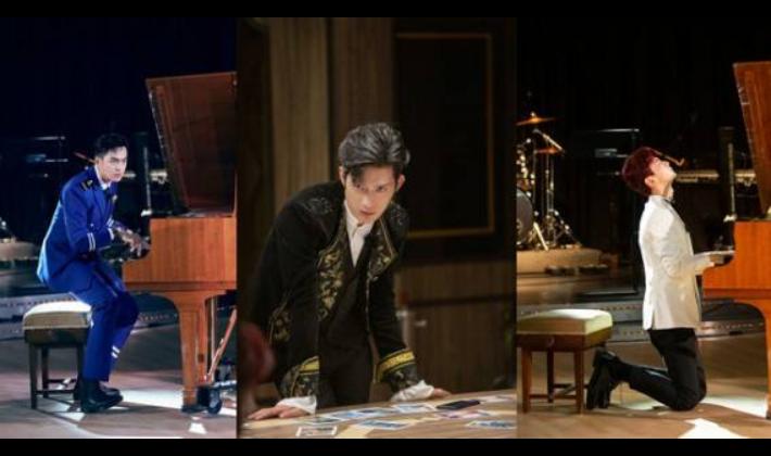 《明星大侦探》井柏然、张若昀、白敬亭上演钢琴battle