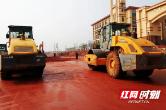 宁乡龙江路加速建设 预计年底通车