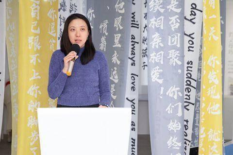 公益艺术展览在京开幕 黄晓明希望更多正能量