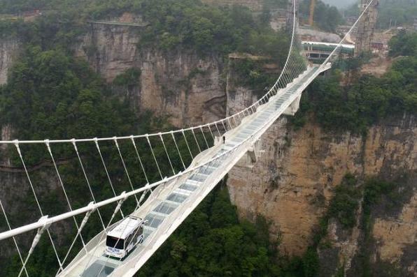 Cool the craze for glass bridges