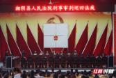 2018年中国渔政执法十大案例湘阴最大电鱼团伙案公审