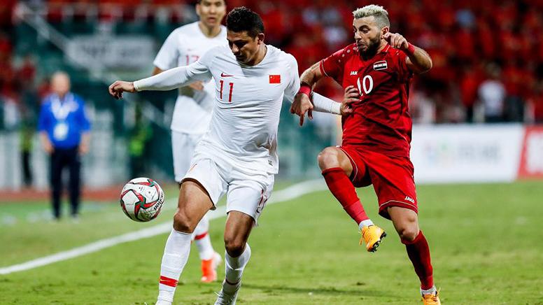 国足1-2不敌叙利亚 遭遇40强赛首败