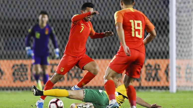 四国赛:中国国奥1:0小胜立陶宛收获首胜