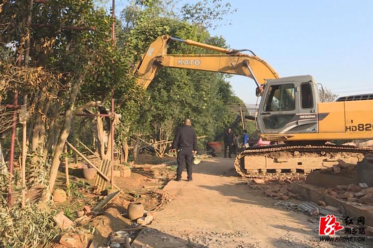多部门联动依法腾地147亩 推进项目建设