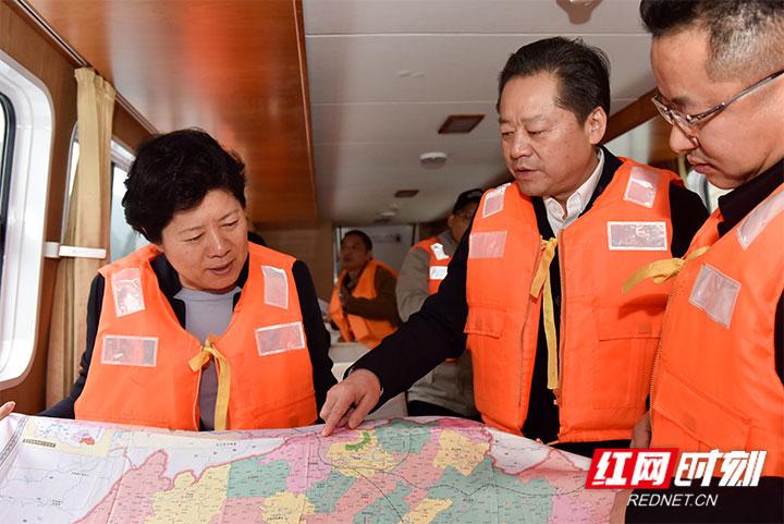 副省长吴桂英来杏彩平台登陆地址市调研
