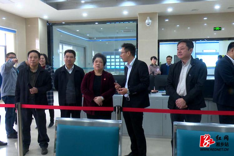 湘潭市政协常委会来湘乡专题视察农村人居环境整治工作