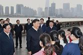 习近平在上海考察时强调  深入学习贯彻党的十九届四中全会精神  提高社会主义现代化国际大都市治理能力和水平