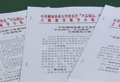 湖南农业大学:让青年教职工回归立德树人初心