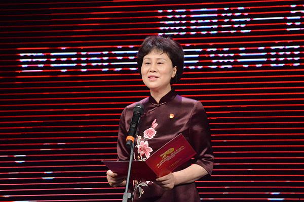 省委常委、省委统战部部长黄兰香出席并致辞。
