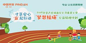 """专题:2019湖南平安产险希望小学""""梦想操场""""公益捐赠计划"""