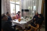 黄芳走访慰问省侨联第一届委员会主席李介夫家属