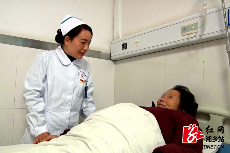 【党代表风采】肖丽华:牢记使命护健康