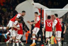 英超:阿森纳主场2-0力克曼联 阿尔特塔上任首胜