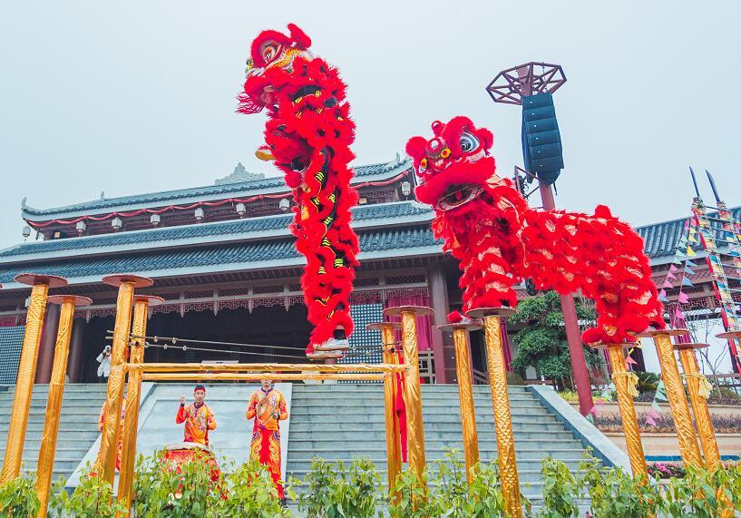 【長沙】逛廟會 看舞獅 觀煙花