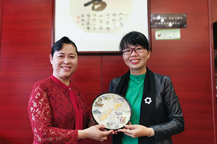 Chen Shuizhen: to promote Hunan to the World